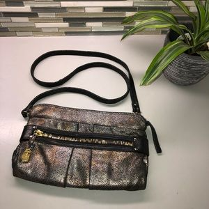Authentic See by Chloe metallic crossbody Purse